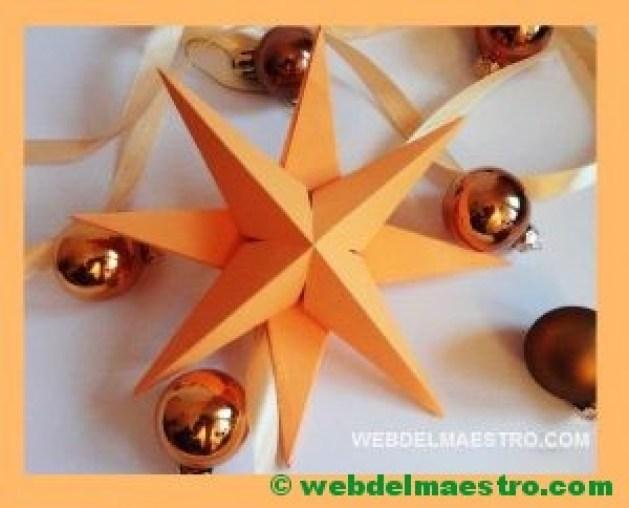 estrella tridimensional