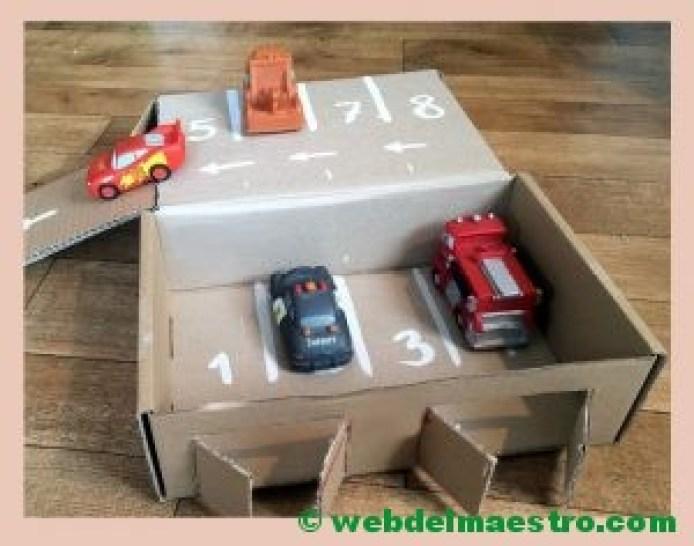 parking de cartón-II