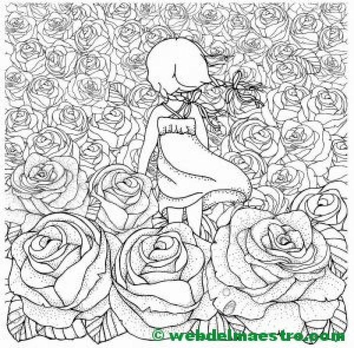 Dibujo de flores