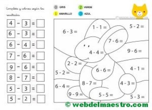 Ejercicios De Sumas Y Restas Web Del Maestro