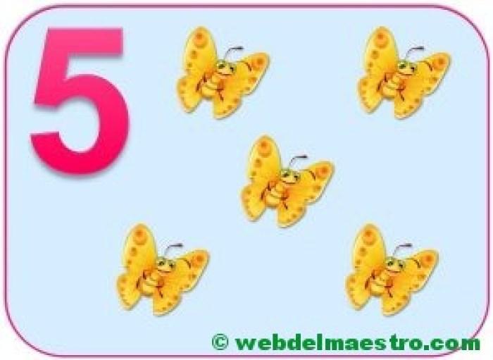 Cartel del número 5