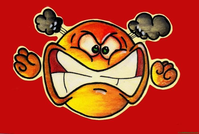 Enfadado