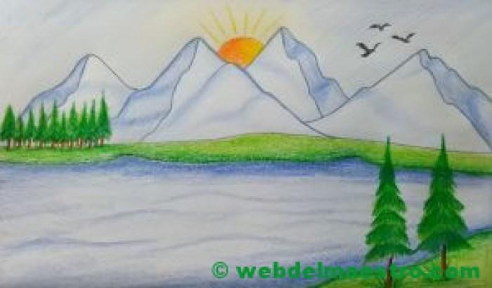 Paisaje dibujo nº 1