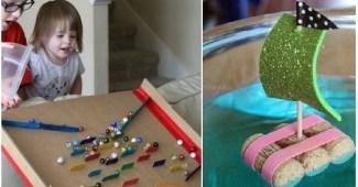 juguetes reciclados para niños-