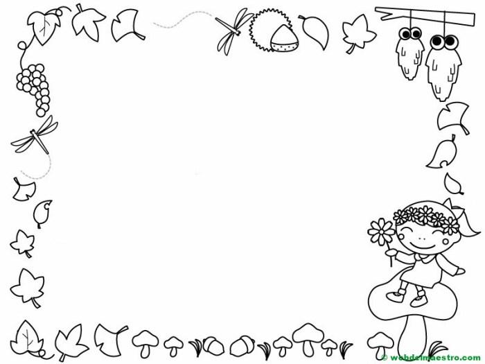 Dibujos Del Otoño Para Colorear Web Del Maestro