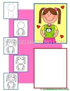 Dibujos de personas fáciles-1-