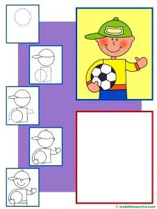 Dibujos de personas fáciles-2-