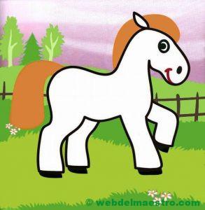 Dibujo de caballo para niños