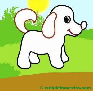 Perro dibujo infantil