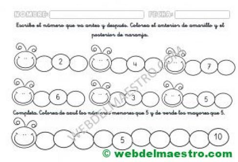 Series numericas Infantil - II