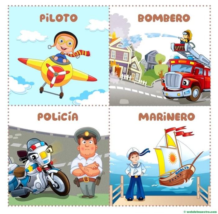 piloto-bombero-policía-marinero