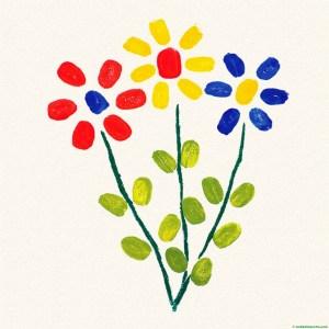 pintura de flores 2