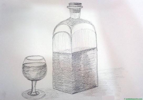 Dibujo a lápiz sencillo