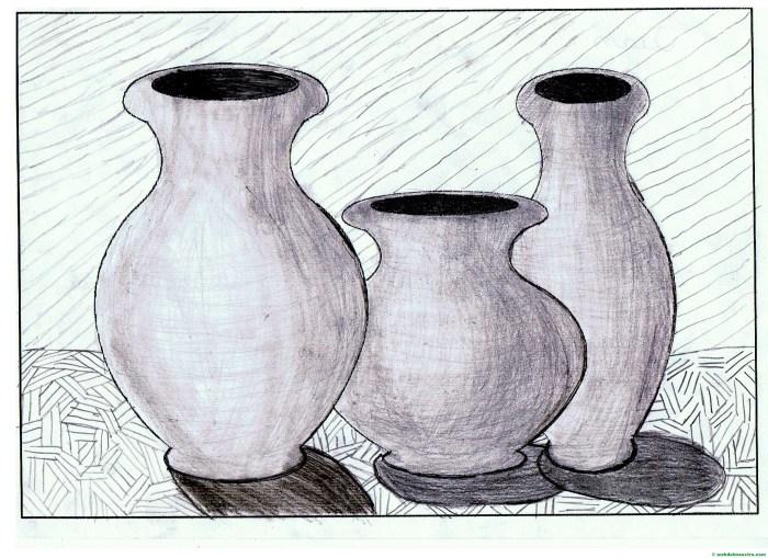 Dibujos sencillos hechos a lapiz-II
