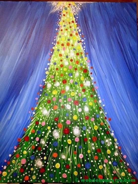 dibujo de navidad-