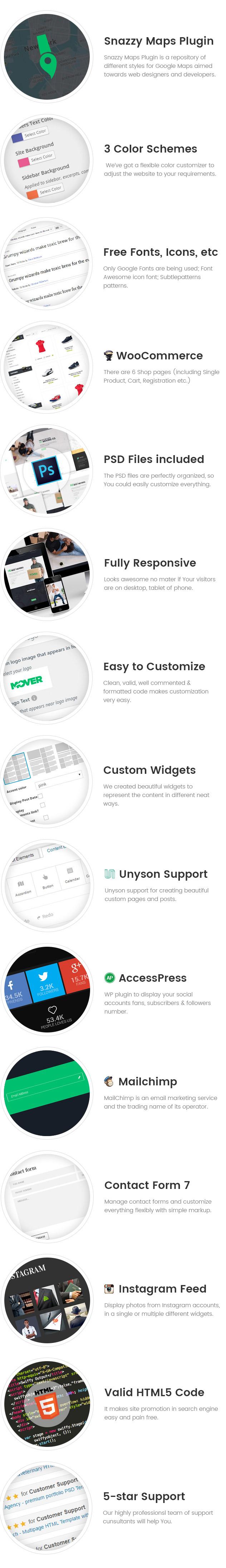 Mover - Delivery Company WordPress Theme