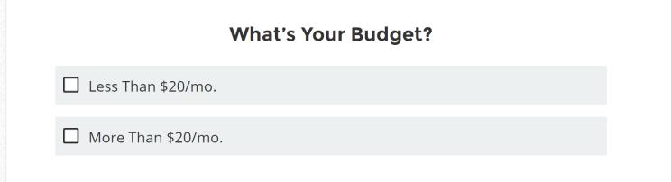 ホスティングに掛ける予算