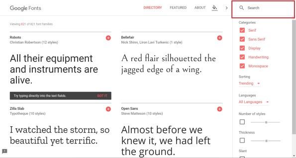 Google Fonts の使い方