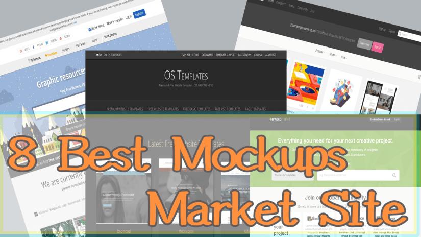 8 Best Mockups Market Site