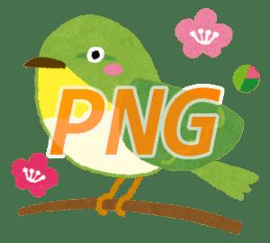 画像の形式:PNG