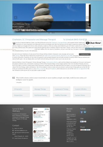 Chiropractor Websites Marketing