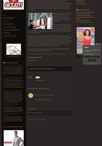 Gym Websites Marketing
