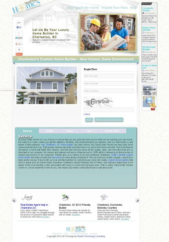home builder marketing websites