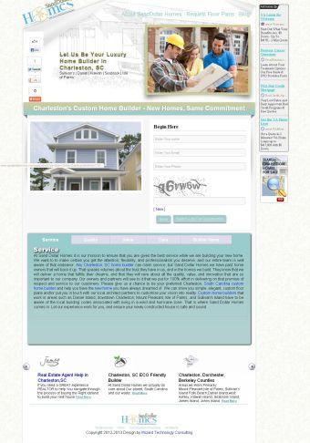 home builder marketing websites