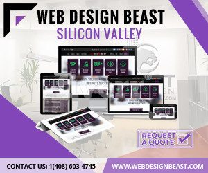 web design beast purple ad