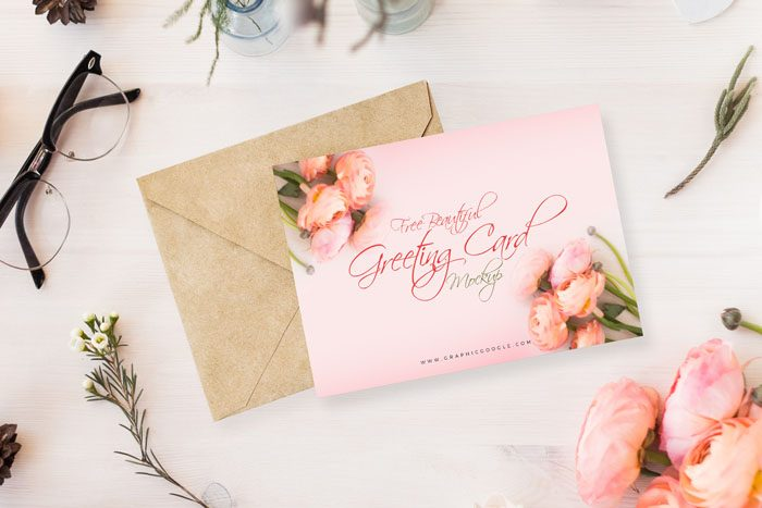 55 Best Gift Greeting And Invitation Card Mockups Free