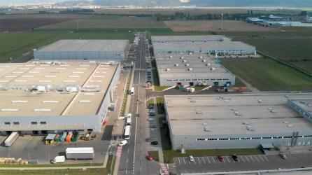 Filmare cu drona parc industrial Bucuresti