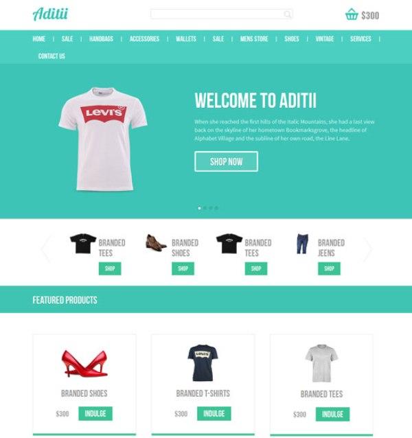Free Responsive HTML CSS Website Templates - Basic responsive website template