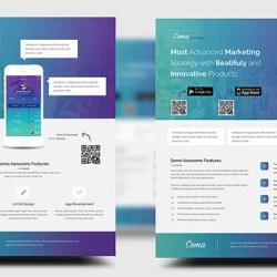 13-Mobile App Promotion Flyer