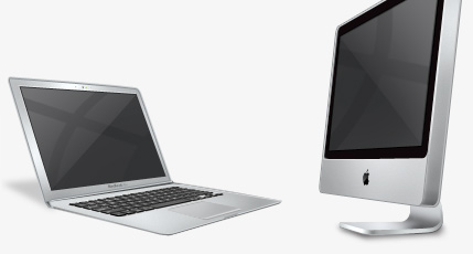 MacBook Air and iMac