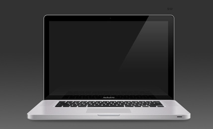 Aluminium MacBook Pro OSX