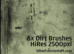 High Res Dirt Brush Set