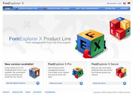 Font Explorer X