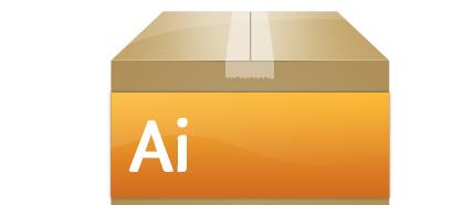 Create an Adobe Box Icon in Photoshop