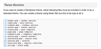 My WordPress Cheat Sheet