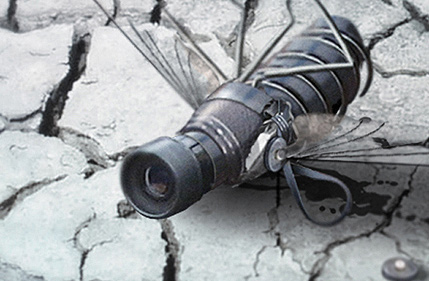Creating a Spy Fly Photo Manipulation