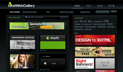 Web Design Gallery