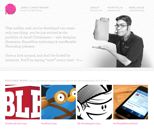 minimal web design