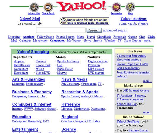 web design evolution