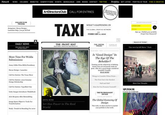 contrast in web design