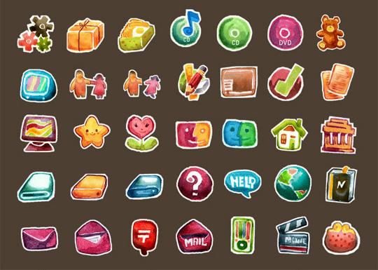 unique icons