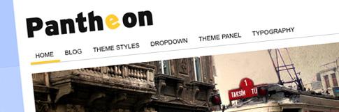 Pantheon: A Premium WordPress Theme