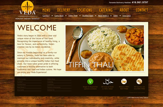 40 tasty restaurant websites to inspire you web design