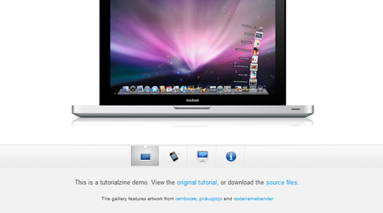 Apple-style Slideshow