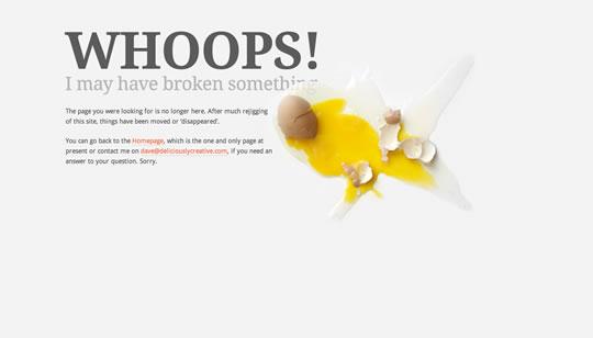 Deliciously Creative 404 page