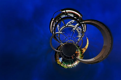 Planet Paris Passerelle Debilly